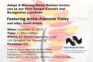 fundraiser for adopt a nursing home patient